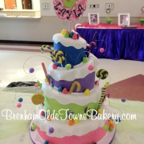 candy land topsy turvy 4 tier