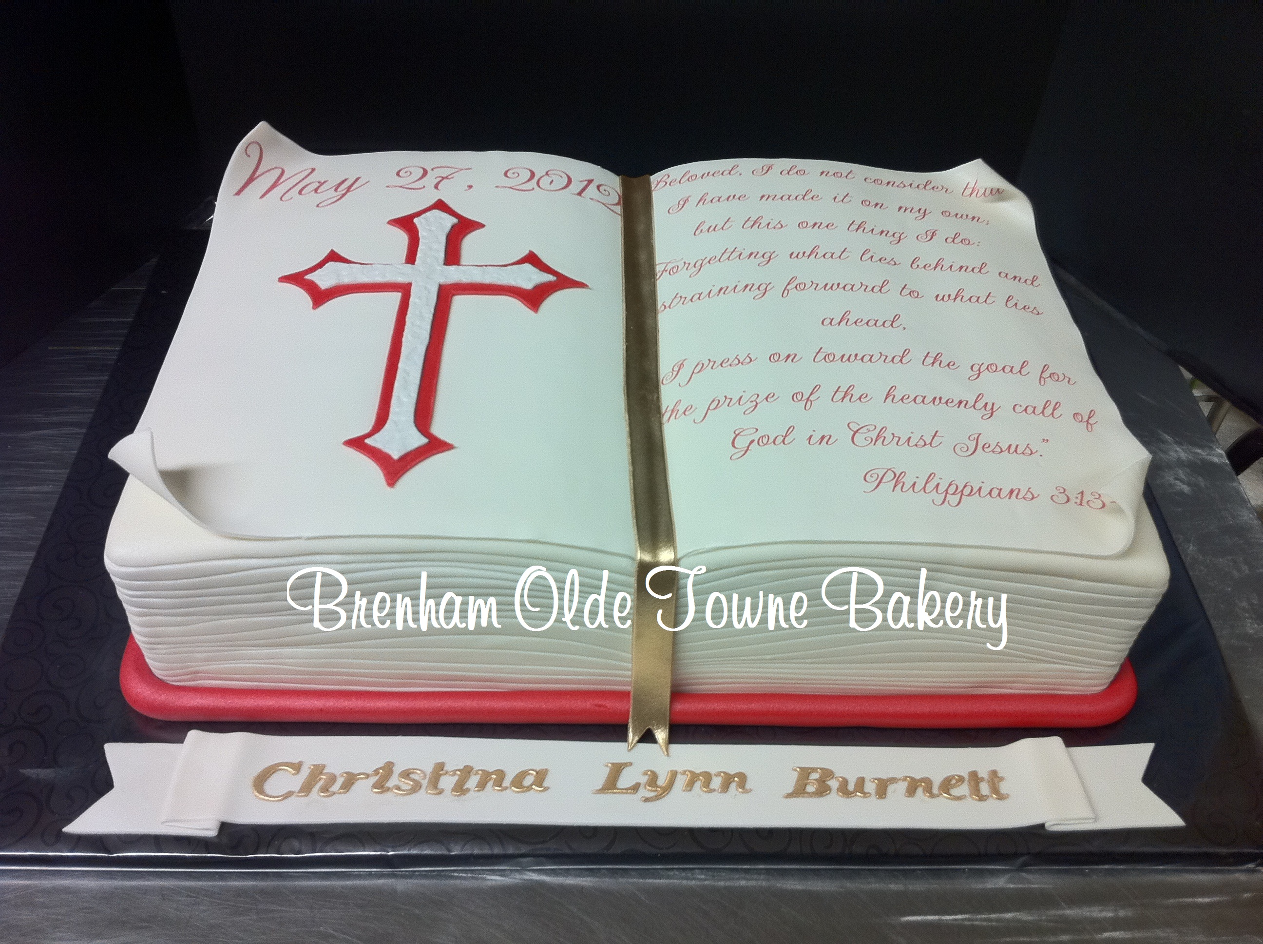 Confirmation Quotes For Cakes