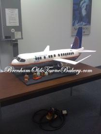continental airplane cake