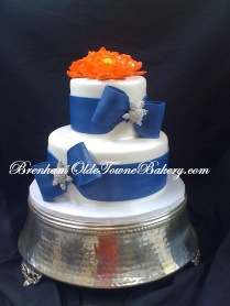 Coral & Navy Bridal Shower
