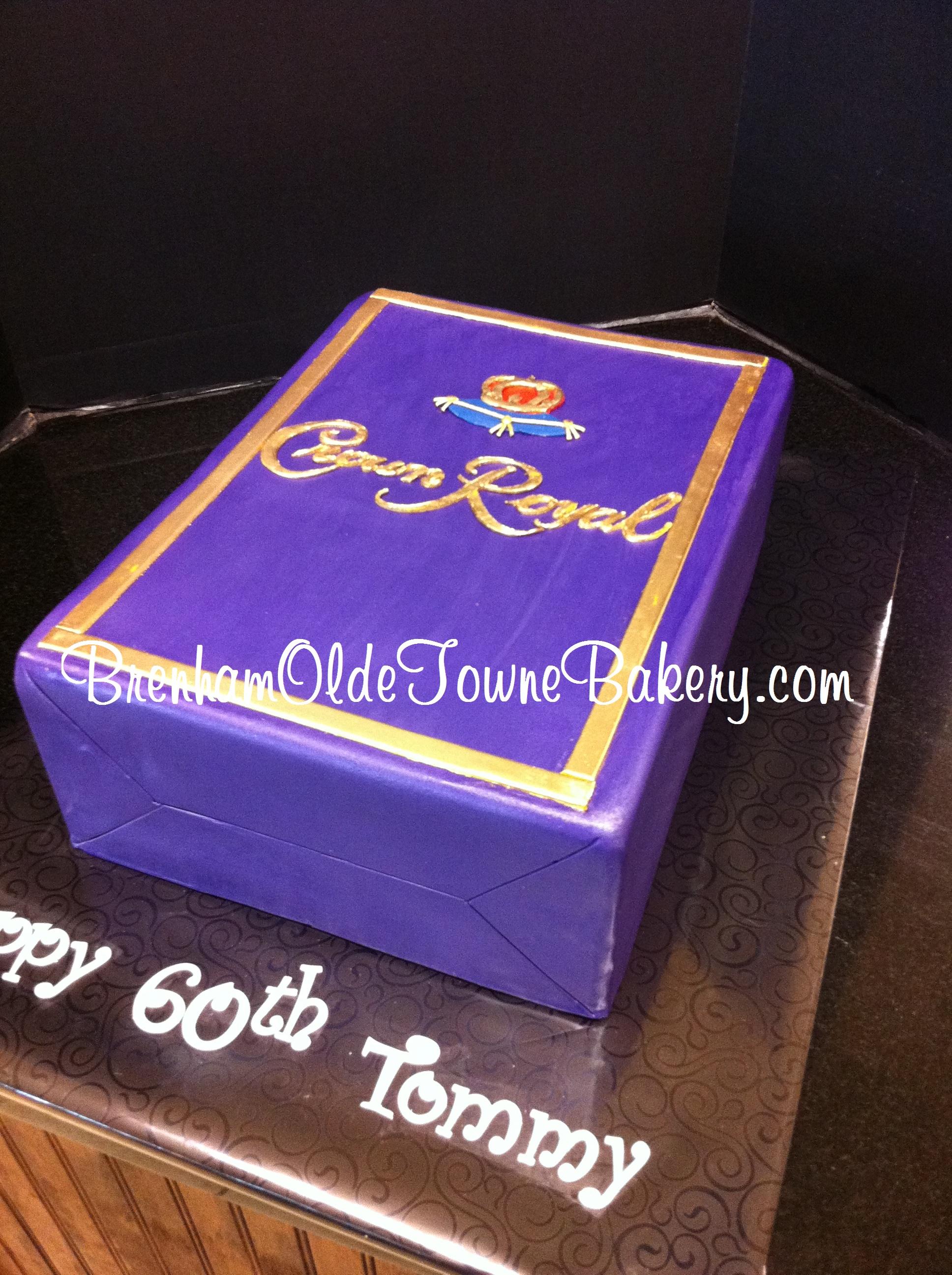 Crown Royal Box Brenham Olde Towne Bakery