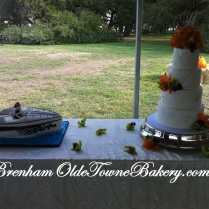 Diamond & Boat Cakes