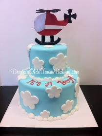 helicopter baby shower