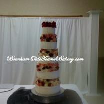 Mega Flowers Wedding Cake