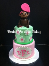 mini monkey baby shower