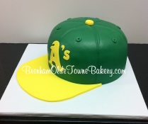 oakland a's hat