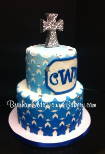 ombre stars baptism