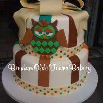 owl bedding baby shower