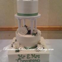 Pillar Wedding Cake