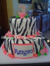 reagan zebra birthday