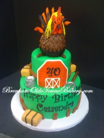 rooster birthday