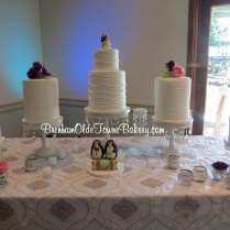 wedding penguins cakes