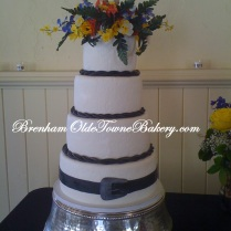 Western paisley Wedding
