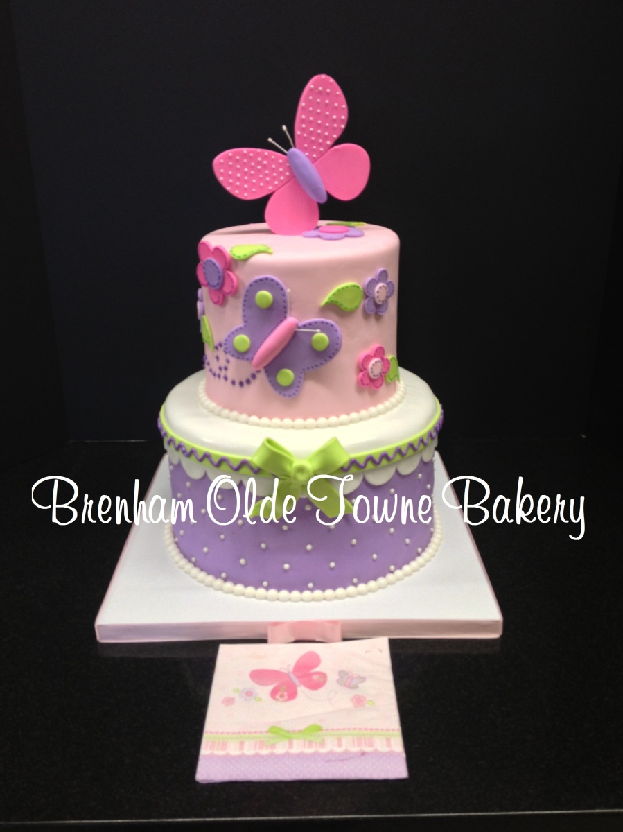 Pin Butterfly Baby Shower Cake Decorating Community Cakes We Bake Cake ...