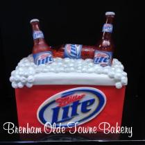 ice chest birthday cake