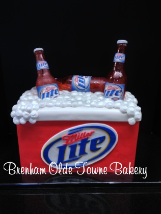 ice chest birthday cake